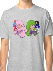 Jem and the Holograms Vs The Misfits Classic T-Shirt