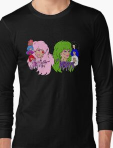 Jem and the Holograms Vs The Misfits Long Sleeve T-Shirt