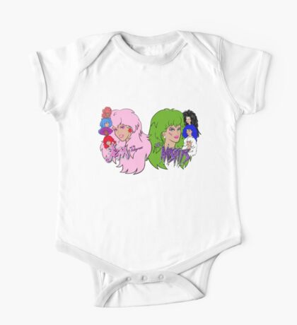 Jem and the Holograms Vs The Misfits One Piece - Short Sleeve