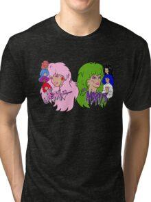 Jem and the Holograms Vs The Misfits Tri-blend T-Shirt