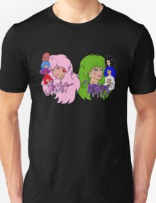 Jem and the Holograms Vs The Misfits T-Shirt