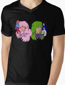 Jem and the Holograms Vs The Misfits Mens V-Neck T-Shirt