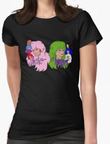 Jem and the Holograms Vs The Misfits Womens Fitted T-Shirt