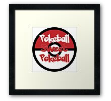 Pokeball Sweet Pokeball Framed Print