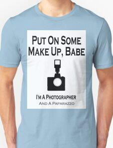 Paparazzo Photographer Unisex T-Shirt