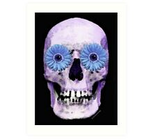 Skull Art - Day Of The Dead 3 Art Print
