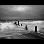 Sandsend Mono II by Ian Parry