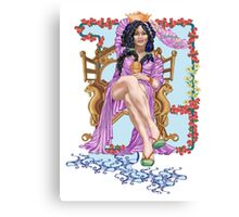 Tarot Queen of Cups  Canvas Print