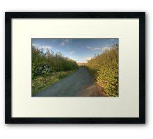 Burren Country road Framed Print