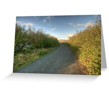 Burren Country road Greeting Card