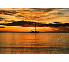 Red Sky at Night.....  Photographic Print