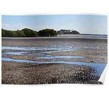 nudgee beach, queensland, australia Poster
