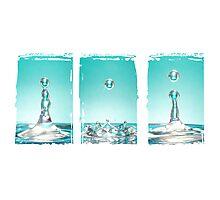Liquid Sculpture  Photographic Print
