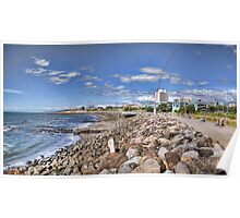 New Plymouth Foreshore Panorama Poster
