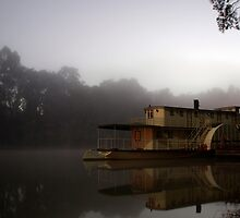 Sleeping Steamer by AlMiller