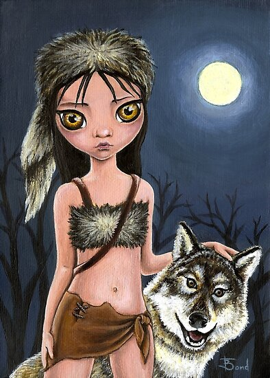 Werewolf girl by tanyabond