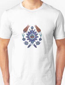 Iznik Tile inspired - The Owl T-Shirt