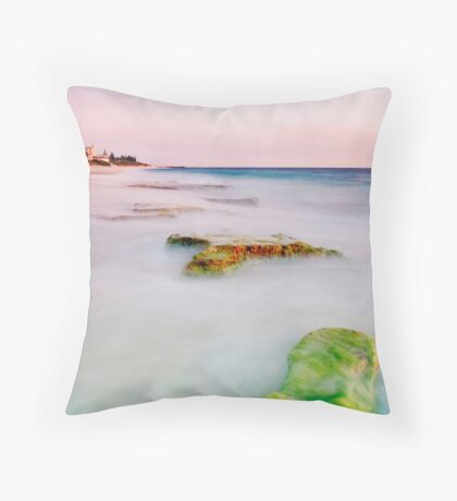 North Cottesloe Beach Throw Pillow