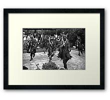 Border Morris Framed Print
