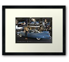 cadillac girl Framed Print