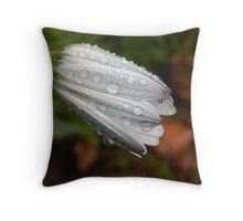 Petal Droplets Throw Pillow
