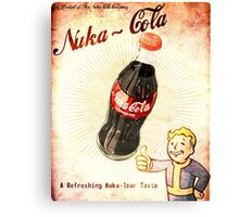 fallout vintage poster nuka cola Canvas Print