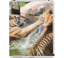 Playing in the pond iPad Case/Skin