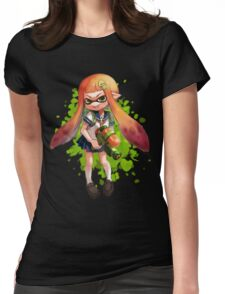 SQUID SCHOOLGIRL Womens Fitted T-Shirt