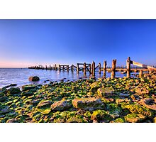 Old Bay Pier Photographic Print