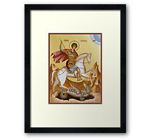 St George Framed Print