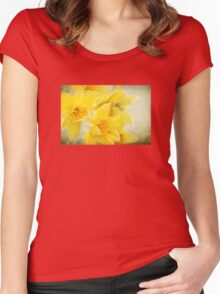 Spring gold Women's Fitted Scoop T-Shirt