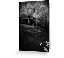 The soul of the Willow tree Greeting Card