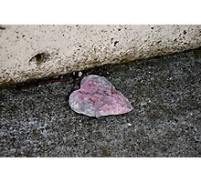 Paper heart Photographic Print