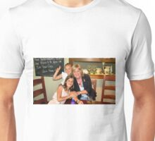 Viv and the two princesses. Unisex T-Shirt