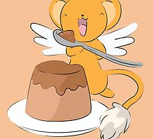 Kero and his dessert by steffirae