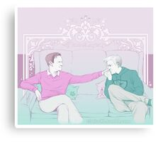 Mystrade ~ Your Majesty Canvas Print