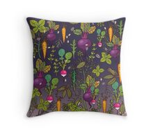 Gardener's dream Throw Pillow
