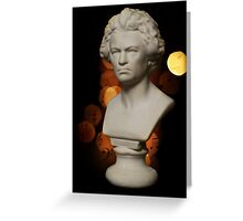 B is for......Beethoven Greeting Card