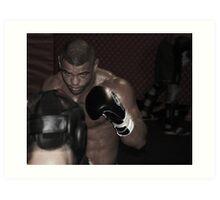 UFC fighter Art Print