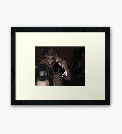 UFC fighter Framed Print