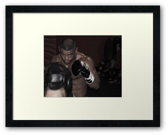 UFC fighter by Amanda Huggins