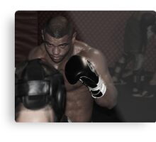 UFC fighter Metal Print