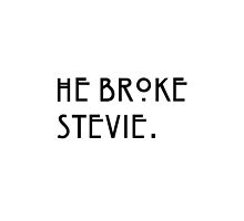 """He broke Stevie"" Misty Day American Horror Story Quote. by LizRobson"