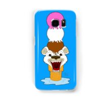 I Am Cool, I Am The Breeze. I Am The Ice Cream Bear Samsung Galaxy Case/Skin