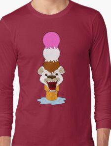 I Am Cool, I Am The Breeze. I Am The Ice Cream Bear Long Sleeve T-Shirt