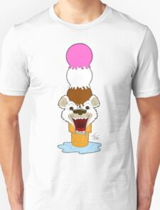 I Am Cool, I Am The Breeze. I Am The Ice Cream Bear Unisex T-Shirt