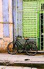 Bicycle, Havana, Cuba by David Carton