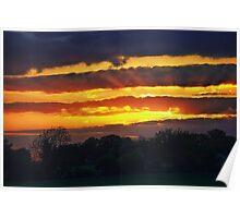 Awakening at Sunset Poster