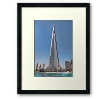 The Burj Kaliph Framed Print