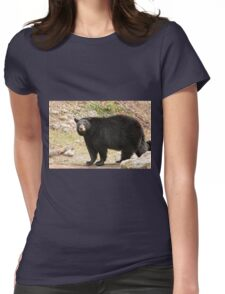 Black bear - Parc Omega, Montebello, PQ Womens Fitted T-Shirt